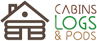 Cabins, Logs & Pods Logo